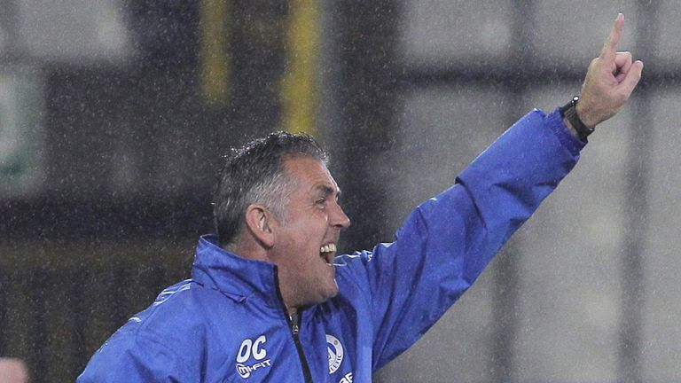 Owen Coyle: Praised his side's loan stars
