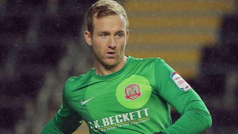 Ben Alnwick: Left Oakwell on deadline day