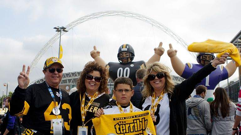 Wembley: Hosted another successful NFL game on Sunday evening