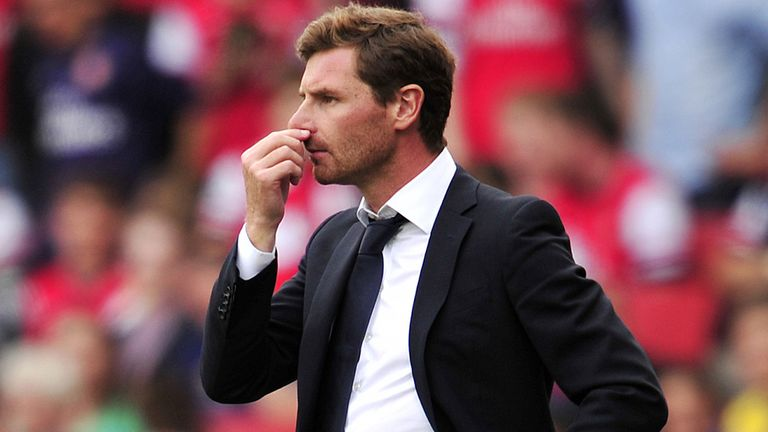 Andre-Villas Boas: Relationship with Jose Mourinho broken down
