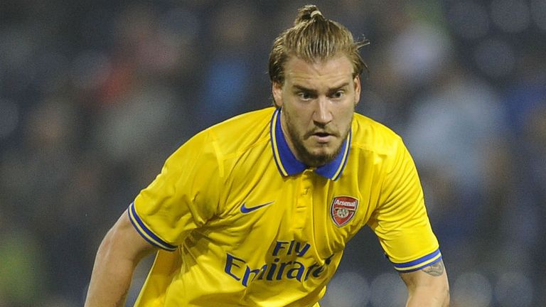 Nicklas Bendtner: Urged to leave Arsenal in January