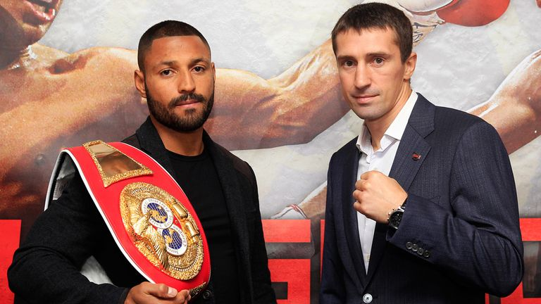 Kell Brook (l) hoping for major fights in the future (pic courtesy of Lawrence Lustig).