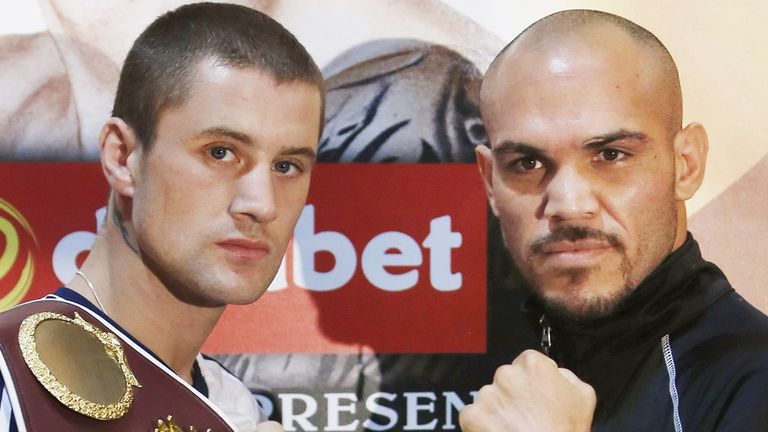 Ray Beltran is Ricky Burns' toughest opponent yet, according to Eddie