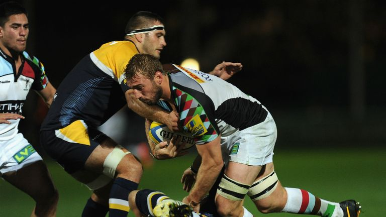 Chris Robshaw led from the front as Harlequins beat Worcester on Friday night