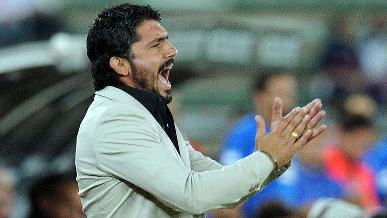 Gennaro Gattuso: Sacked by Palermo on Wednesday