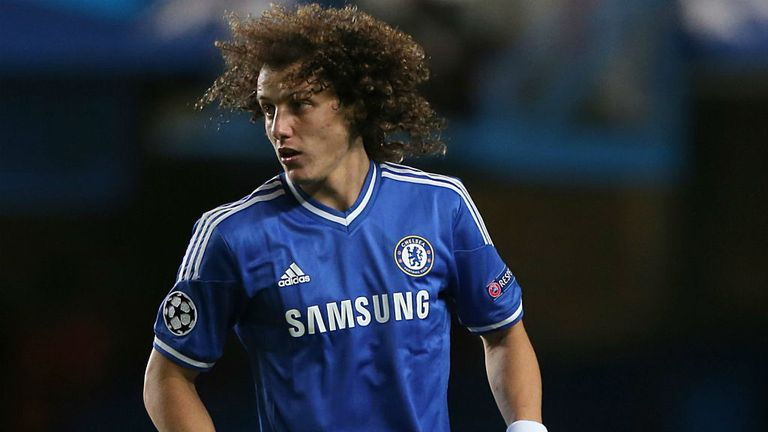 David Luiz: Chelsea defender is reportedly the subject of interest from both Barcelona and Bayern Munich