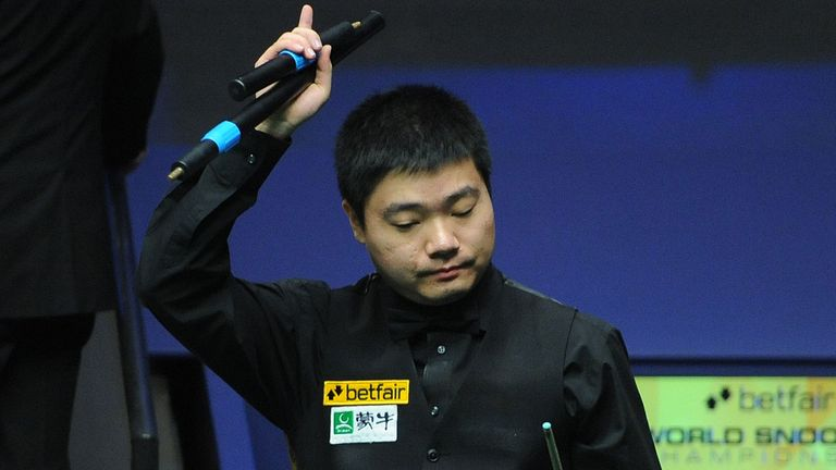 Ding Junhui: Too much for Ebdon