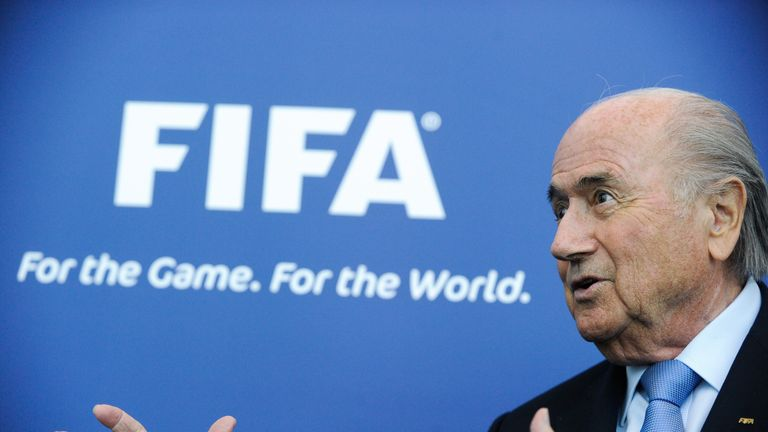 Sepp Blatter: On the defensive