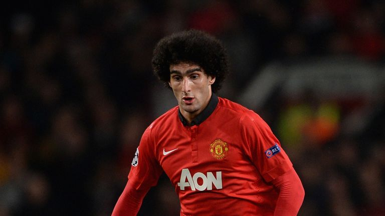 Marouane Fellaini: Impressed on his first start for Manchester United