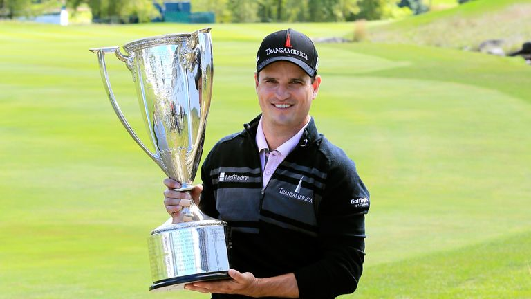 Zach Johnson: His bogey-free score of 65 was enough to clinch victory at Conway Farms