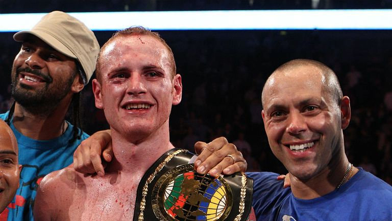 George Groves must find new trainer after splitting with Adam Booth