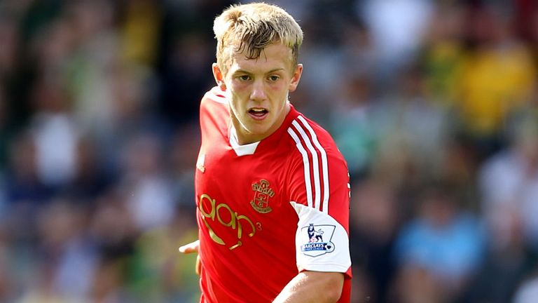 James Ward-Prowse: Proud to be likened to David Beckham