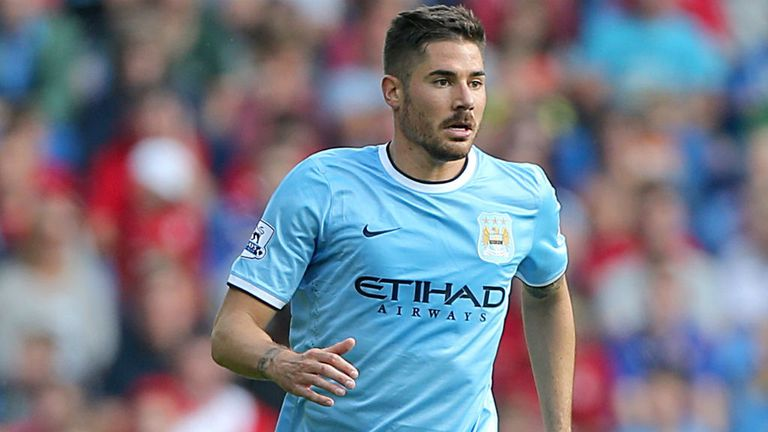 Javi Garcia: Staying with Manchester City