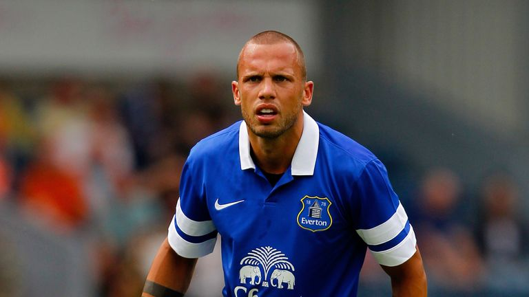 John Heitinga: Holland defender has an important role to play at Everton