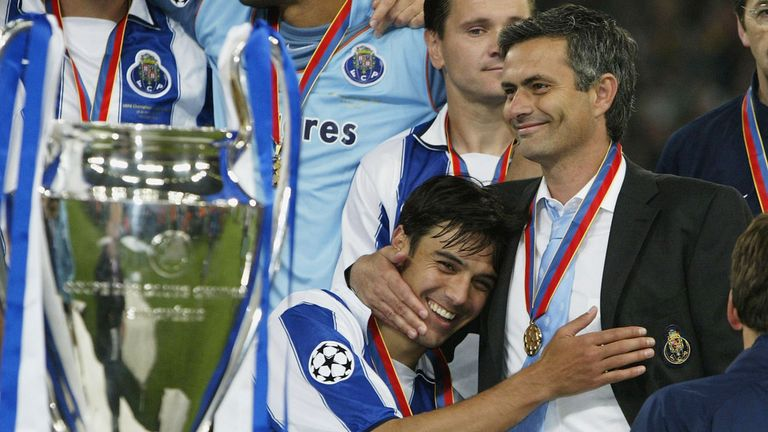 Glory in Gelsenkirchen: Porto won the 2004 Champions League in a one-sided final with Monaco