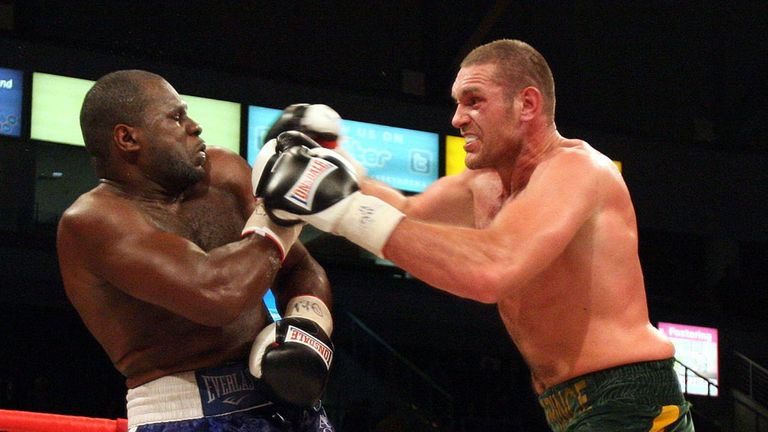 Kevin Johnson: Was beaten by Tyson Fury in 2012