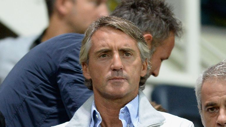 Roberto Mancini: Sacked by City at the end of last season