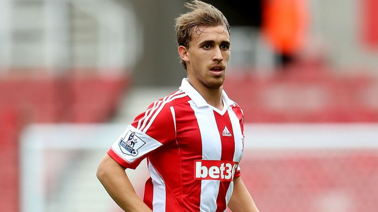 Marc Muniesa: Summer signing is happy to wait for his first-team chance at Stoke