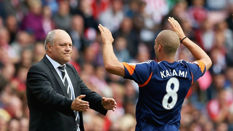 Martin Jol has welcomed Pajtim Kasami into the Fulham side after his development on loan