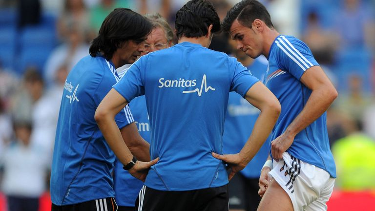 Gareth Bale: Struggling with thigh injury