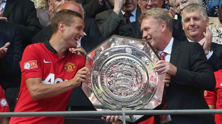 Nemanja Vidic: Man Utd captain has hailed David Moyes' composure