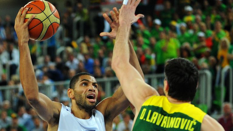 Nicolas Batum: Was France's top-scorer with 17 points