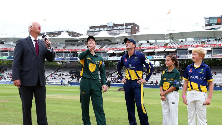 Glamorgan and Notts reached Lord's final in the 2013 competition