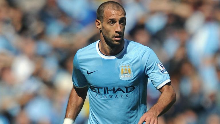 Pablo Zabaleta: Says the current Manchester City squad is stronger
