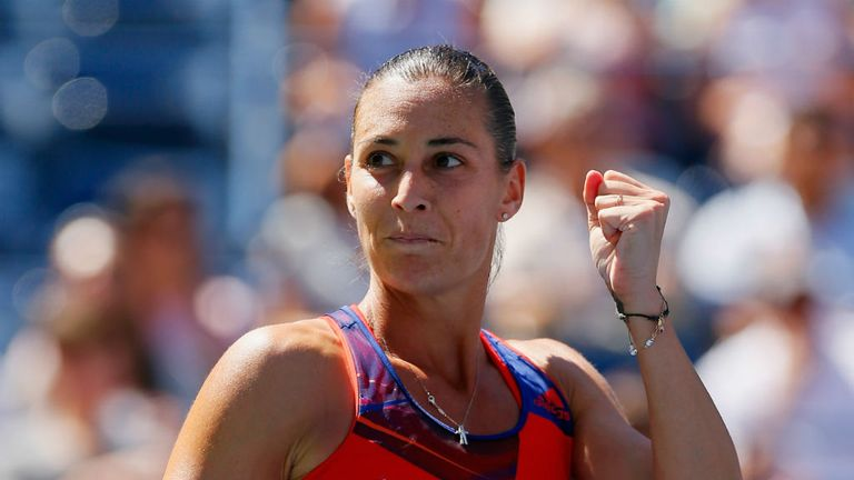 Flavia Pennetta: Reached her first-ever career grand slam semi-final