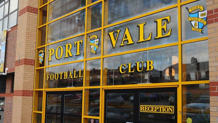Vale Park: Home to the Valiants