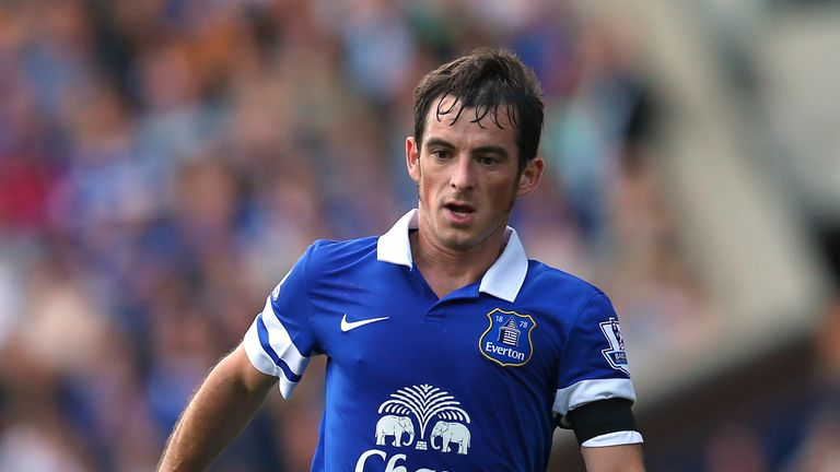 Leighton Baines: Considered to be a world class talent by Gareth Barry