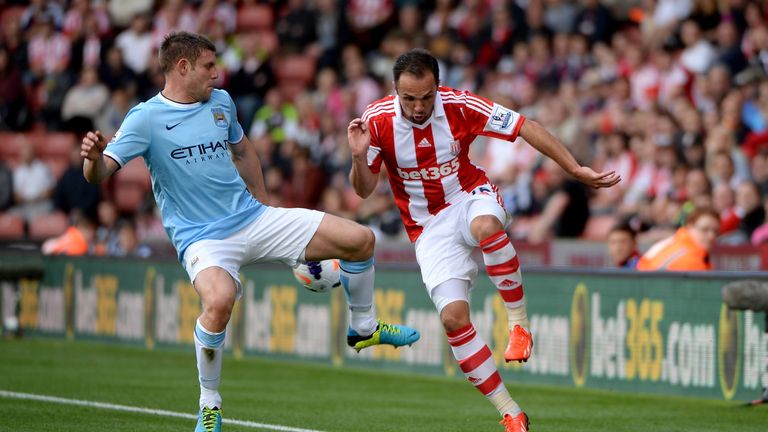 Matthew Etherington: Happy with competition at Stoke