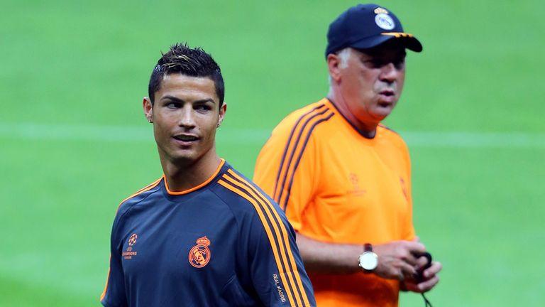 Cristiano Ronaldo: Praised by Carlo Ancelotti