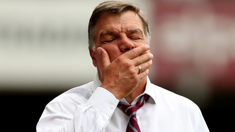 Allardyce: lacks squad depth, even when all players are fit, says Jeff