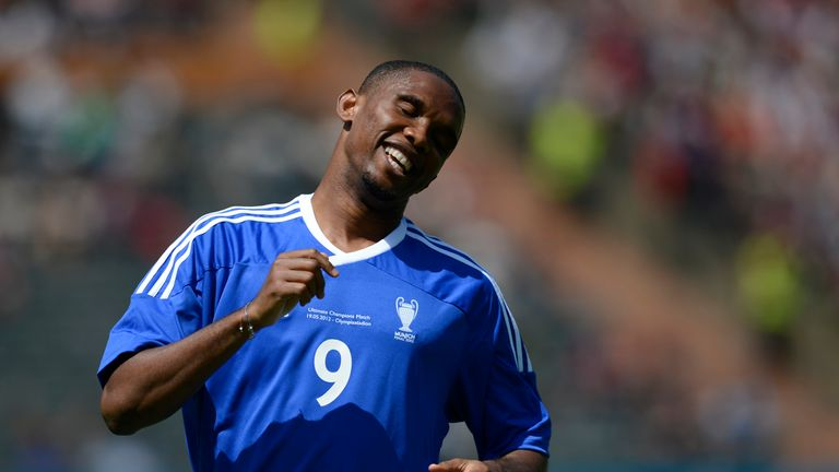 Samuel Eto'o: Set to make Chelsea debut on Saturday