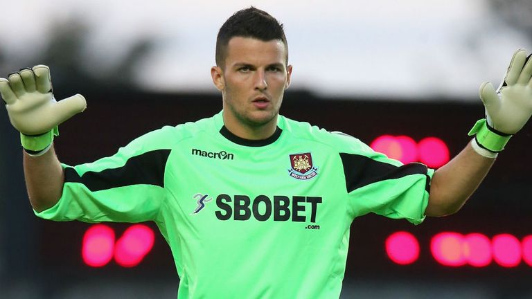 Stephen Henderson: Set for Bournemouth loan