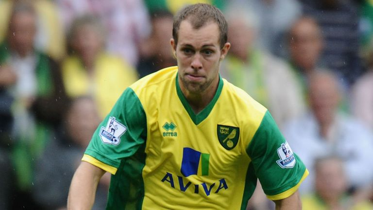 Steven Whittaker: Has been in and out of the Norwich side this season