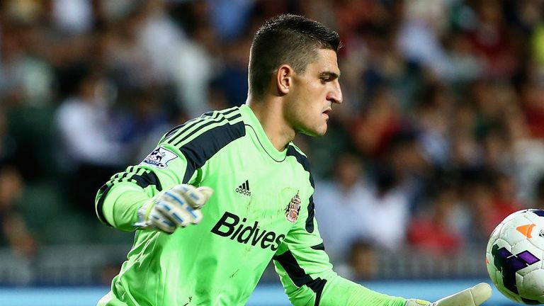 Vito Mannone: Sunderland goalkeeper hopes to start against Manchester City