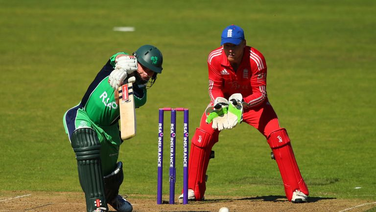 William Porterfield: Ireland skipper in one-day action against England last year