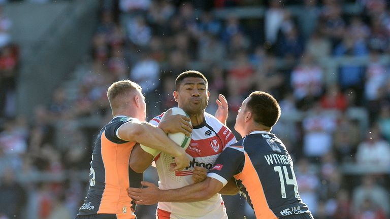 Saints: Powered through Hull KR's defence