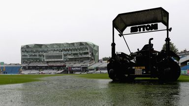 Weather won the day at Headingley with the ODI washed out