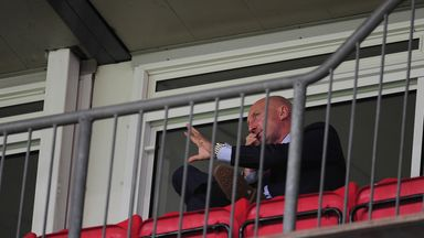 Ian Holloway: Banned from the touchline on Sunday