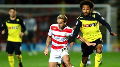 Ikechi Anya (r): Admits Watford weren't good enough