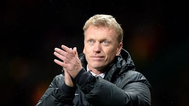 David Moyes: Said the singing section was a success