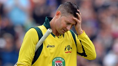 Michael Clarke: Struggles with a persistent back problem