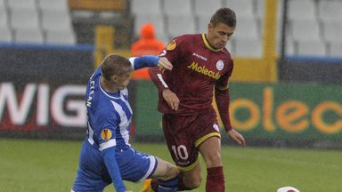 Thorgan Hazard in action for Zulte-Waregem last season