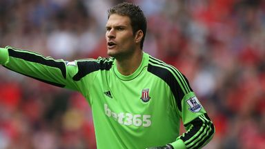 Asmir Begovic: Continues to see his future at Stoke called into question