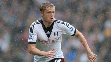 Damien Duff: Set to miss the rest of the season with a knee injury