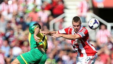 Ryan Shawcross: In action against Norwich