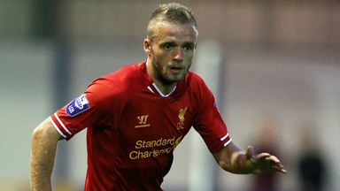 Ryan McLaughlin: Has yet to feature in the Liverpool first-team